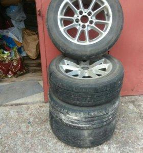 Оригинальные литые колеса бмв r16, Е39, е46, е38,