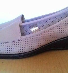 Туфли новые, кожаные ,Thomas Munz