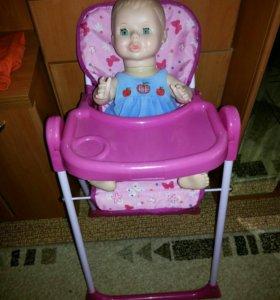 Кукла и столик