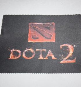 Салфетка для телефона и оптики Дота 2 / Dota 2