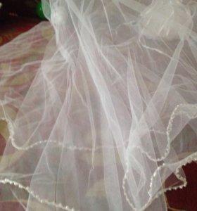Свадебная фата и шпильки для укладки