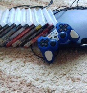 PS3 + 12 игр