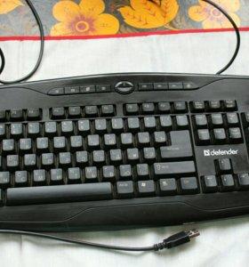 Отличная клавиатура defender