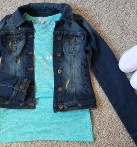 Новая джинсовая куртка Guess