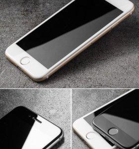 Защитное стекло 4D iPhone