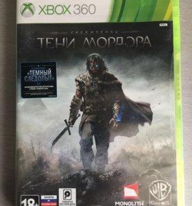 Тени мордора Xbox 360 новый