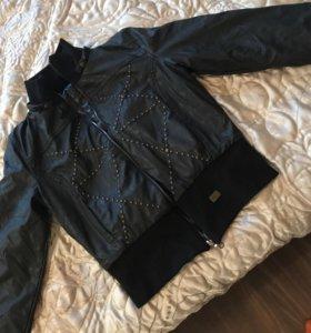 Куртка 2 сторонняя,осень зима(новая)