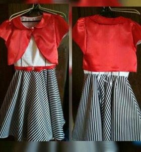 Новое детское нарядное платье на рост 152