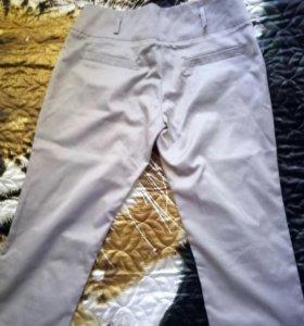 брюки шелковые