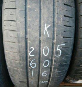 Шины KUMHO 205/60/16 1шт