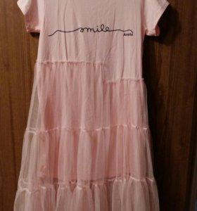 новое платья фатин