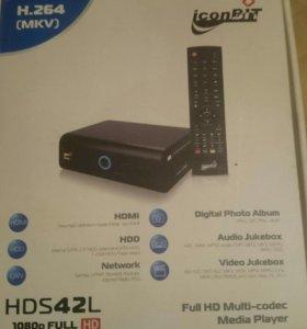 Медиаплеер iconBIT hds42l