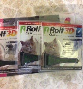 Для кошек от блох и клещей
