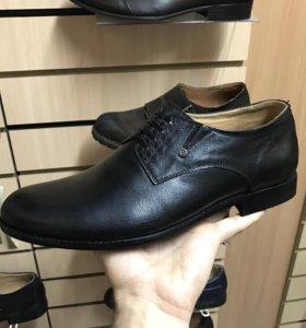 Туфли кожаные, новые