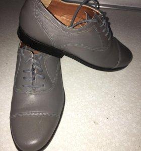 Ботинки натуральная кожа, новые!