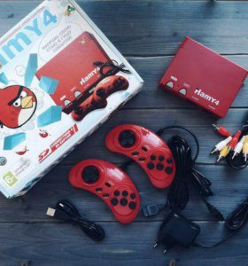 "Приставка Sega - Dendy ""Hamy 4"" (350-в-1) Angry"