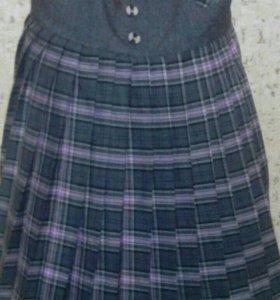 Продам школьные юбки)