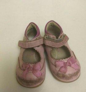 Туфли детские 20размер