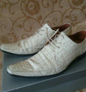 Туфли, нат. кожа, р. 43