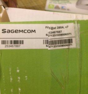 Универсальный роутер sagemcom F@st 2804