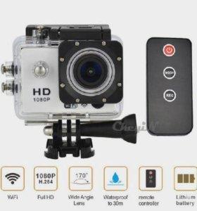 Продам хорошую action camera фул hd1080 недорого!