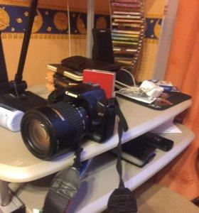 Зеркальный фотоаппарат canon d450