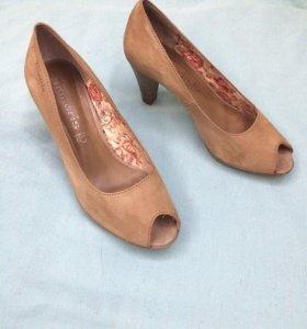 Туфли натуральная замша Tamaris