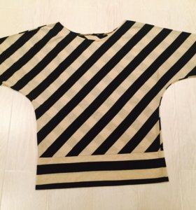Трикотажная блузка, размер 44-46