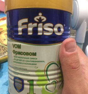 Сухая молочная смесь фрисовом 1 для детей со срыги