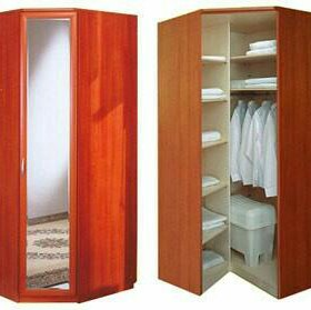Разные угловые шкафы