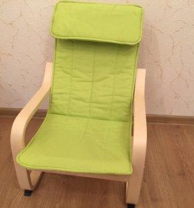 Кресло детское Икея Поэнг