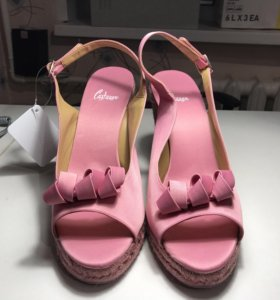 Туфли розовые размер 41