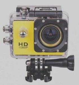 Продам крутую экшн камеру фул hd1080 почти даром!