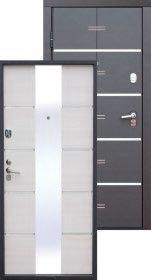 Входная дверь Altateh Беленый ясень.