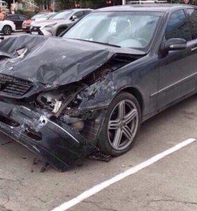 Мерседес s430 Mercedes w220 разбор