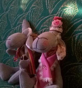 Куклы барашки пара
