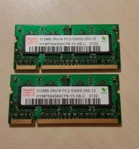 Hynix DD2 SO-dimm 512Mb