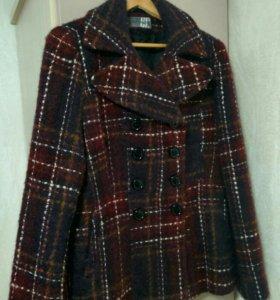 Пальто шерстяное, осень-зима