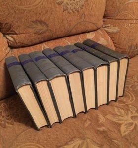 Сборник сочинений в 8-ми томах Джека Лондона.1954г