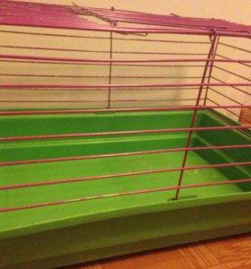 Клетка для кроликов/шиншилл/других грызунов