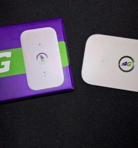Карманный 4G модем WiFi роутер huawei E5573