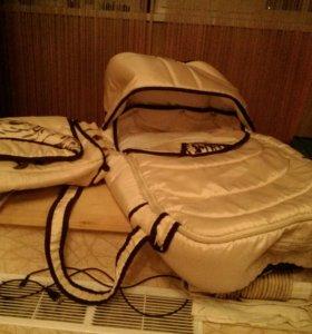 Бежевая переноска+сумка