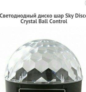 Светодиодный стробоскоп Sky Disco Music Color Quad