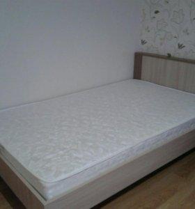 Кровать с матрасом 1,2/2,0  очень срочно!