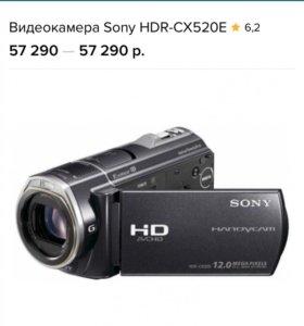 Видеокамера sony HDR-CX520E