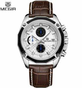 Часы MEGIR качественный хронограф