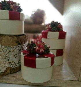 Коробочки подарочные/Бонбоньерки