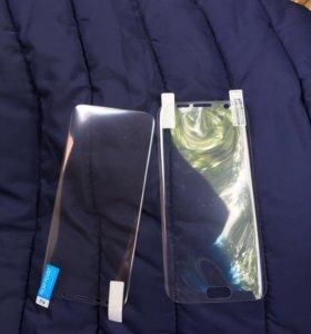 Плёнка на Samsung s 7 edge, s8