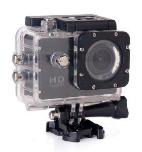 Продам крутую экшн камеру фул hd1080 недорого!