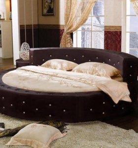 Круглая кровать Энигма